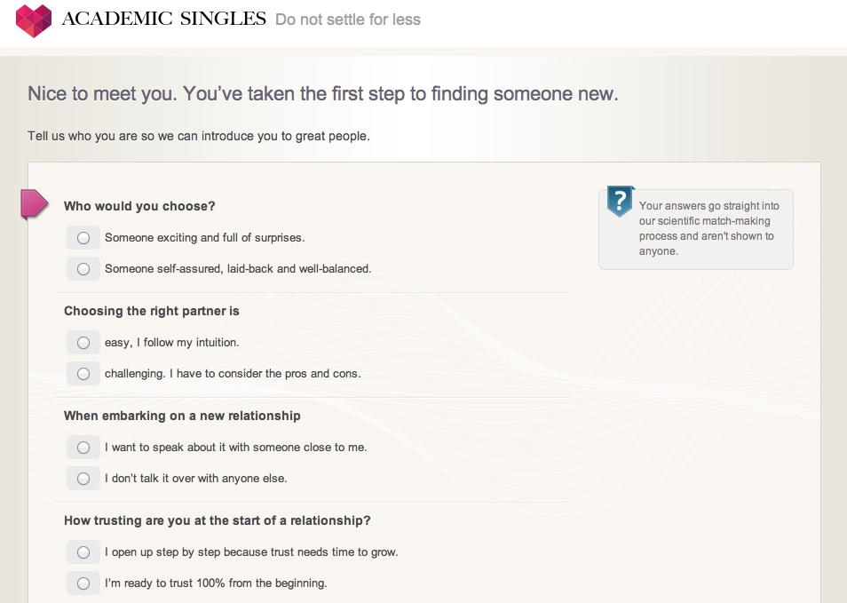 Find love now at SingleAcademics.com